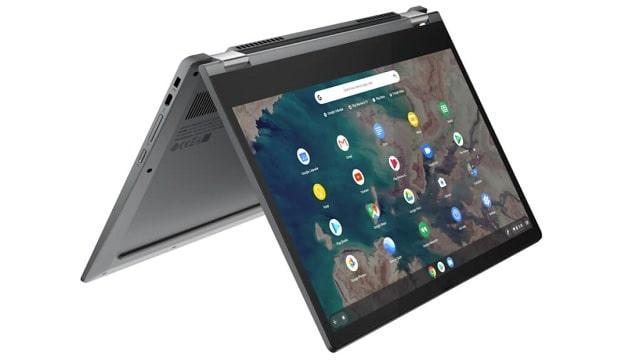 Lenovo IdeaPad Flex 550i ChromeBook テントモード