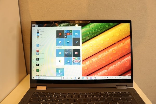 Lenovo IdeaPad Flex 550(15)のOS