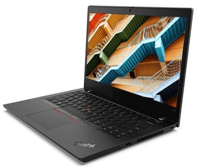 Lenovo ThinkPad L14 Gen 1の外観・横