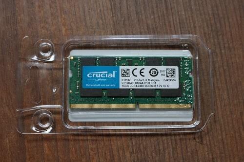 Lenovo Ideapad s540に使用できるメモリ