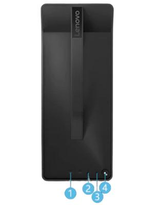 Lenovo Legion T530(AMD)のインターフェイス・上部