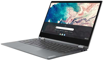 Lenovo IdeaPad Flex550i Chromebookの外観・正面