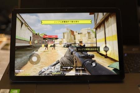 Call of duty mobileをLenovo IdeaPad Duet Chromebookでプレイ
