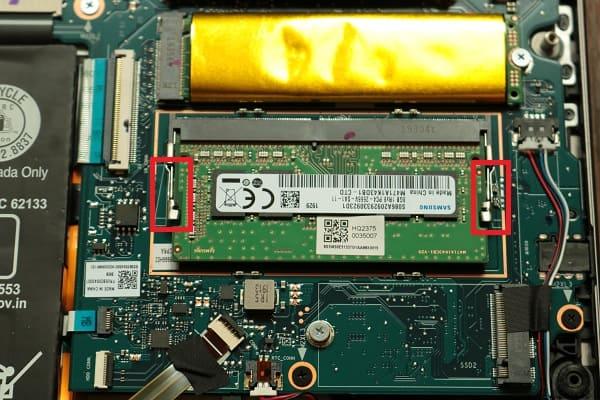 Lenovo Ideapad s540メモリの交換方法