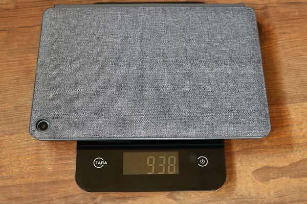 Lenovo Ideapad duet Chromebookの重さ