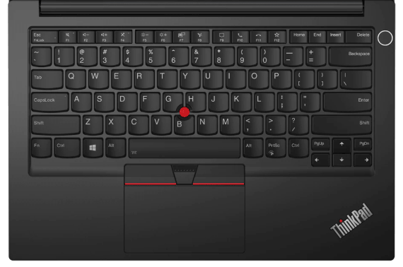 Lenovo thinkpad E14 Gen 2のキーボード