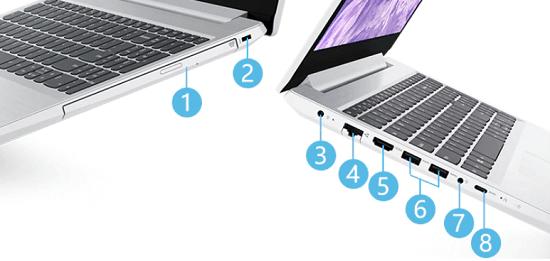 Lenovo IdeaPad L350のインターフェイス