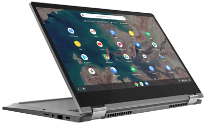 Lenovo IdeaPad Flex550i Chromebookの外観