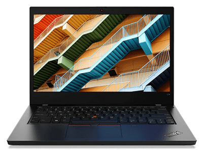 Lenovo ThinkPad L14 Gen 1の外観・正面