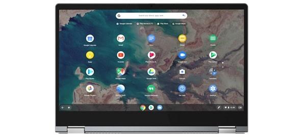 Lenovo IdeaPad Flex 550i ChromeBook タブレットモード