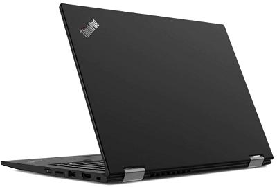 Lenovo thinkpad X390 yogaの外観・後ろ