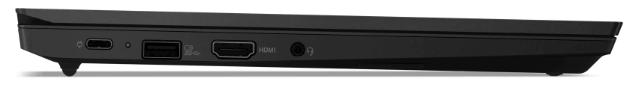 Lenovo thinkpad E14 Gen 2の外観・厚さ・横から