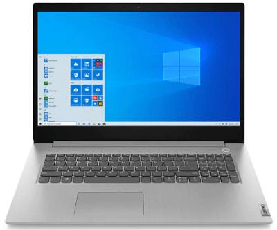 Lenovo IdeaPad Slim 350(17)の外観・正面
