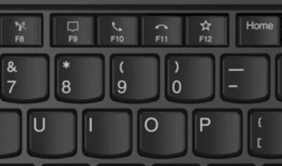 Lenovo thinkpad E14 Gen 2のテレワーク用ボタン