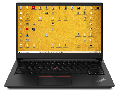 Lenovo thinkpad E14 Gen 2のベゼル
