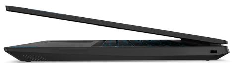 Lenovo IdeaPad L340 ゲーミングエディション(15型)の外観・横