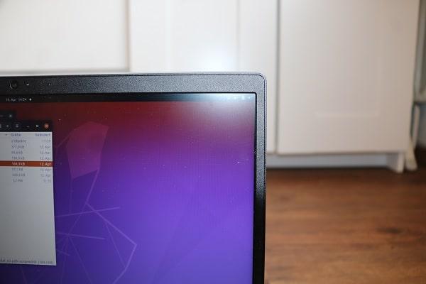 Lenovo Ideapad S145 15 AMDのベゼル