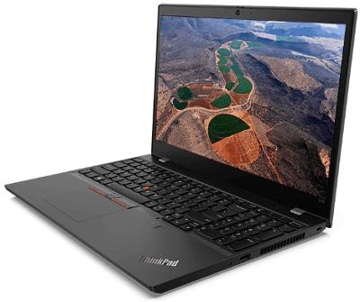 Lenovo thinkPad L15 Gen 1の外観・横