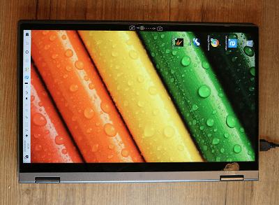 Lenovo Ideapad flex 550・タブレットモード