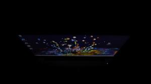 Lenovo Ideapad slim 550i ディスプレイ上から撮影
