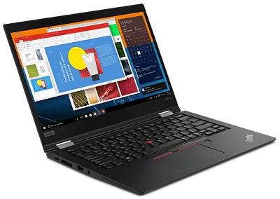 Lenovo Thinkpad x390 Yogaのディスプレイ
