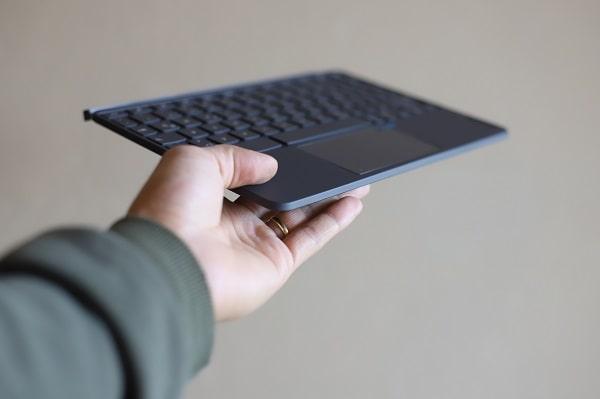 Lenovo Ideapad duet Chromebookのサイズ・重さ