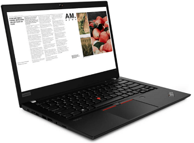 Lenovo ThinkPad T14 Gen 1 AMDの外観・横から
