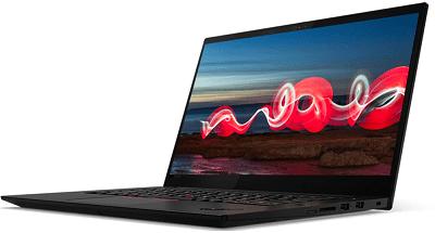 Lenovo ThinkPad X1 Extreme Gen 3(2020)の外観・右前から