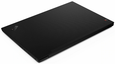 Lenovo thinkpad x1 Extreme gen 2の外観・天板