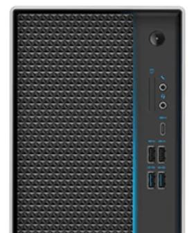 Lenovo IdeaCentre T540ゲーミングエディションのインターフェイス・前面