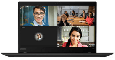 Lenovo thinkpad T14s Gen 1(AMD)の外観・ビデオ電話