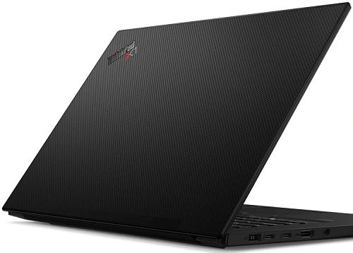 Lenovo ThinkPad X1 Extreme Gen 3(2020)の天板・カーボンファイバー