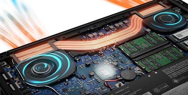 Lenovo ThinkPad X1 Extreme Gen 3の冷却方法