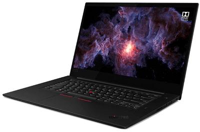 Lenovo thinkpad x1 Extreme gen 2の外観・横から