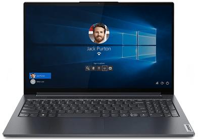 Lenovo Yoga slim 750i・顔センサーでログイン