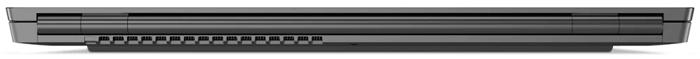 Lenovo ThinkBook Plusの背面・ヒンジ、排気口