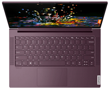 Lenovo Yoga Slim 750 AMDの外観・上から