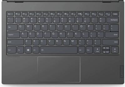 Lenovo ThinkBook Plusの天板のキーボード