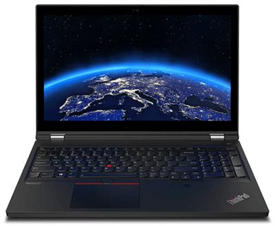 Lenovo thinkpad T15gの外観・正面