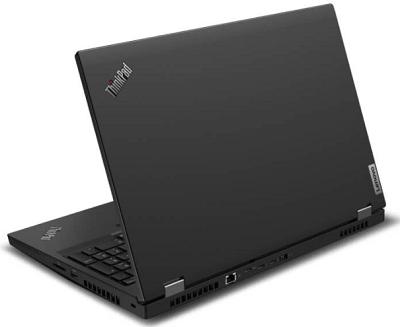 Lenovo thinkpad P15の外観・背面