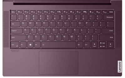 Lenovo Yoga Slim 750 AMDのキーボード