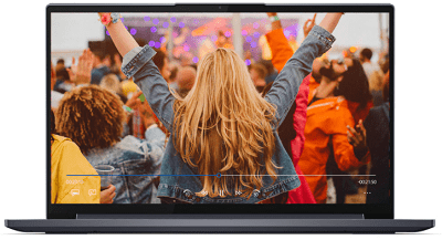 Lenovo Yoga slim 750iの外観・正面