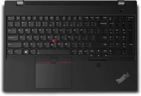 Lenovo thinkpad T15gのキーボード