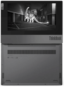 Lenovo ThinkBook Plus・180度開いたところ