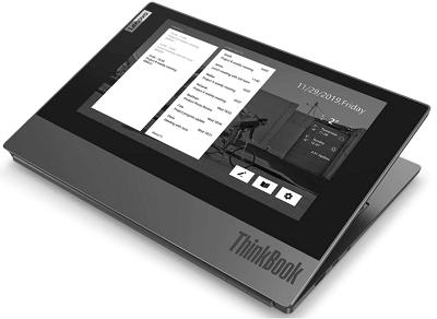 Lenovo ThinkBook Plusのセカンドディスプレイ・天板