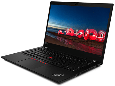 Lenovo thinkpad P14sのディスプレイ