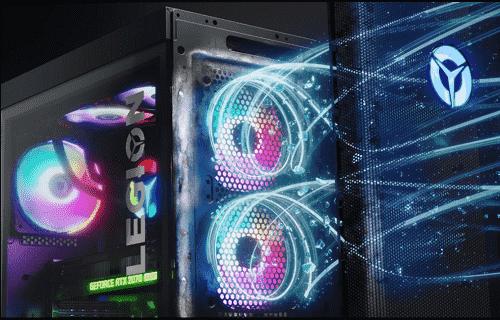 lenovo legion T550 AMDの冷却ファン