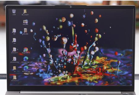 Lenovo ThinkBook 13s Gen 2のディスプレイ ベゼル