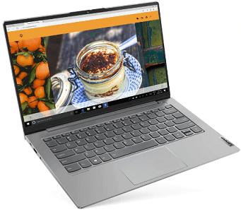 Lenovo ThinkBook 14 Gen 2 AMDの外観 左前