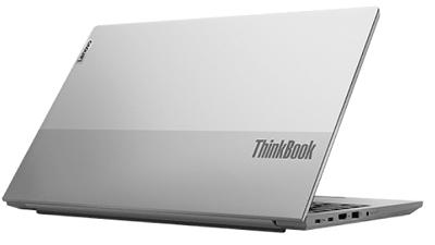 Lenovo thinkbook 15 Gen 2の外観 後ろから